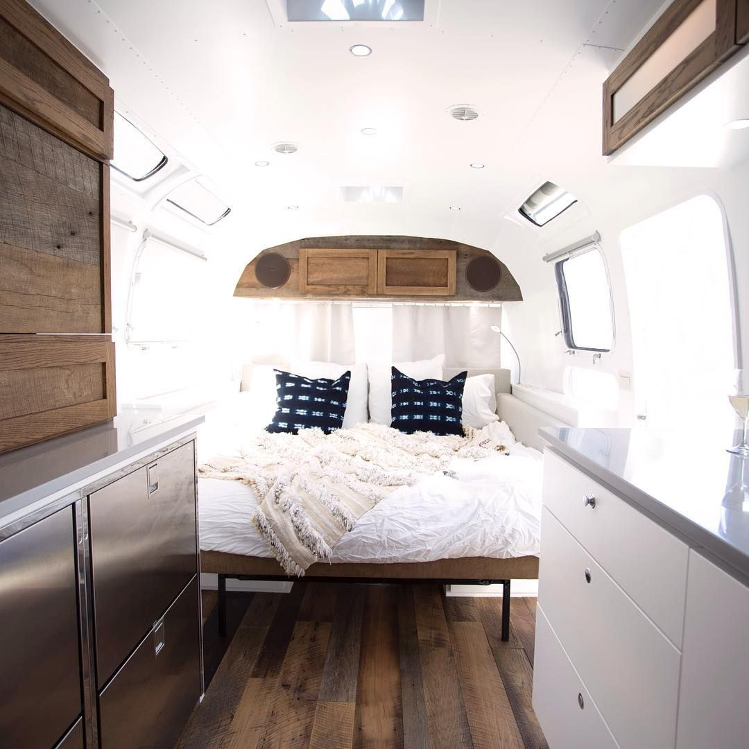 Interior Design Bedroom, Airstream