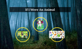 "Kindergarten & 1st grade ""If I were an animal"""