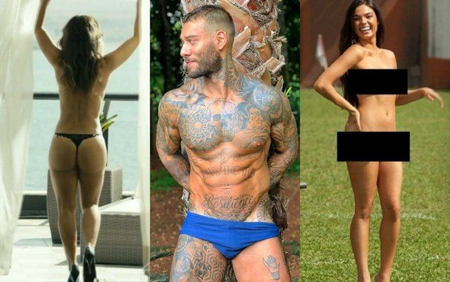 Nudes de 2018: os famosos pelados e os vazamentos que