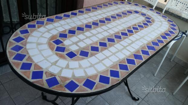 Tavolo Mosaico ~ Tavolo floreale da esterno tavoli in pietra da giardino