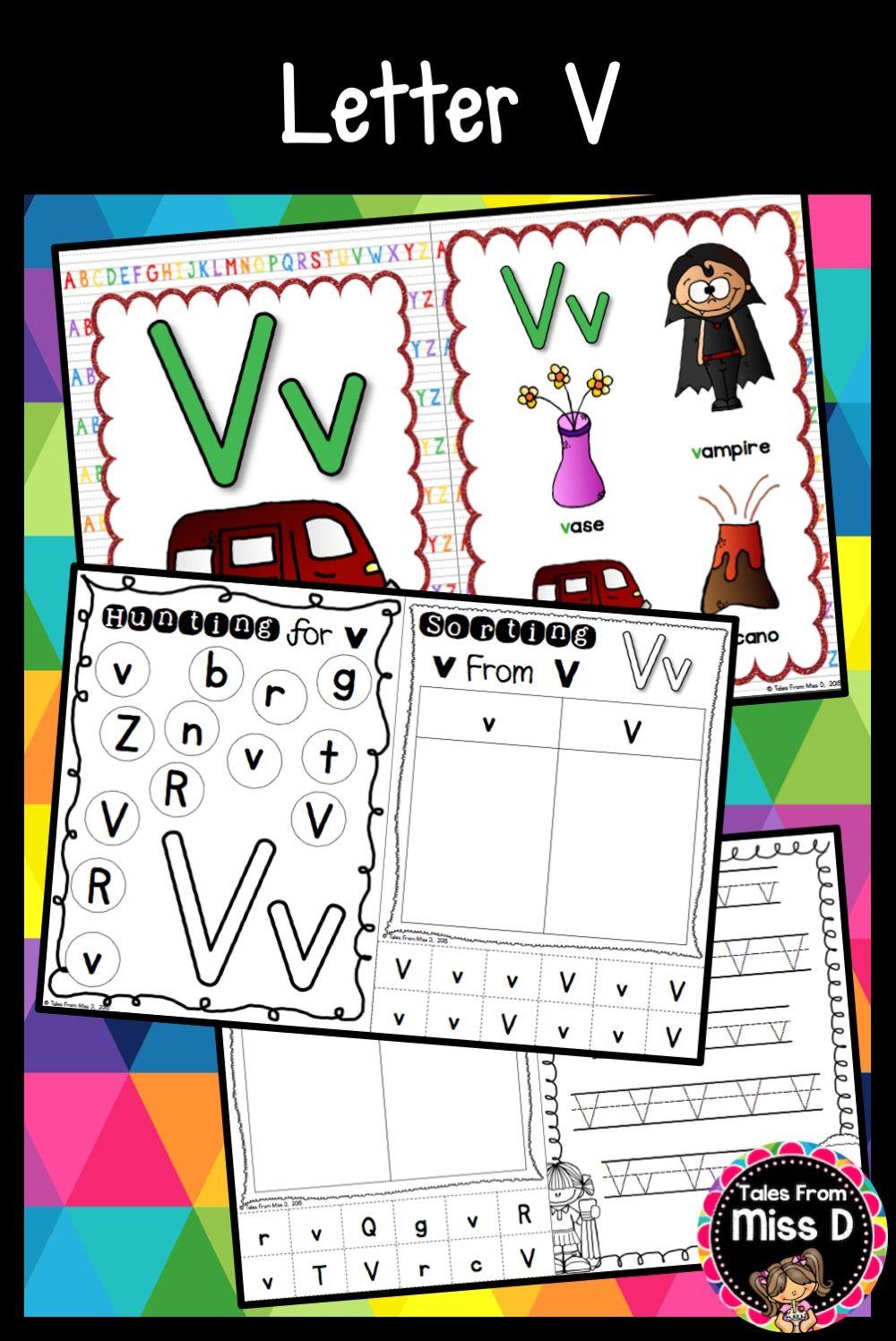 Alphabet Letter V Letter v, Lettering, Letter sorting