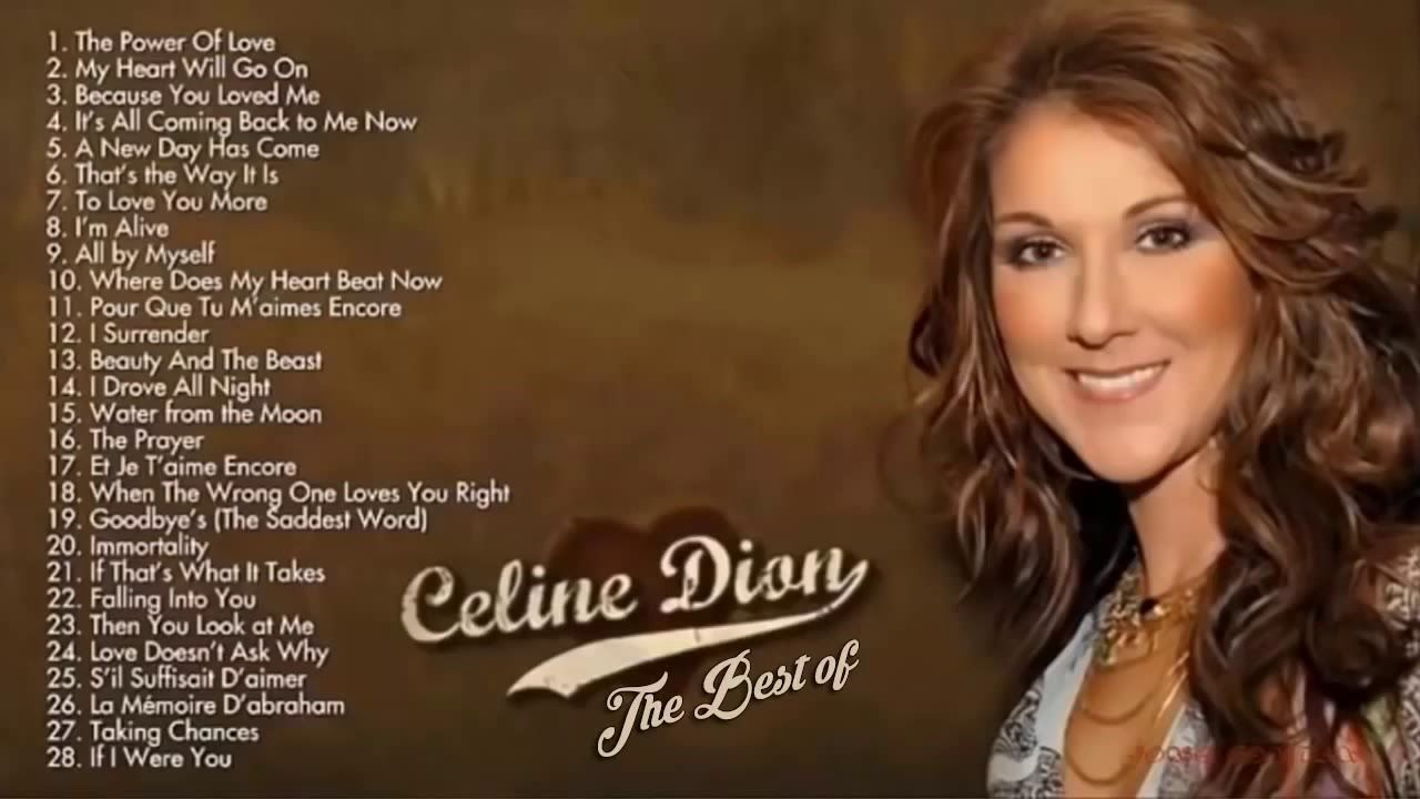 Celine Dion Greatest Hits Tagalog Love Songs Collection Hd Youtube In 2020 Celine Dion Songs