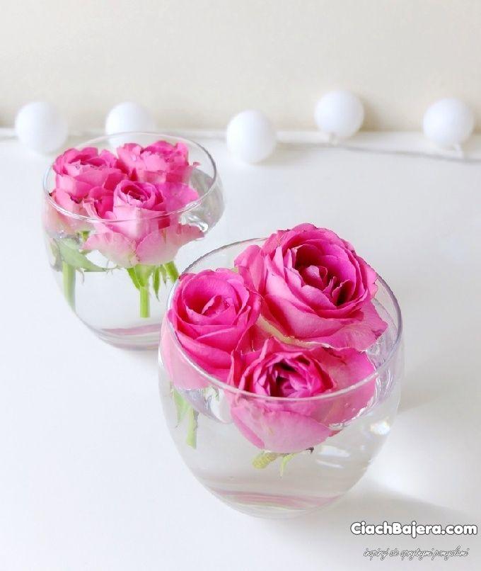 Kwiaty Z Bibuly Flowers Floating In Water Crafts