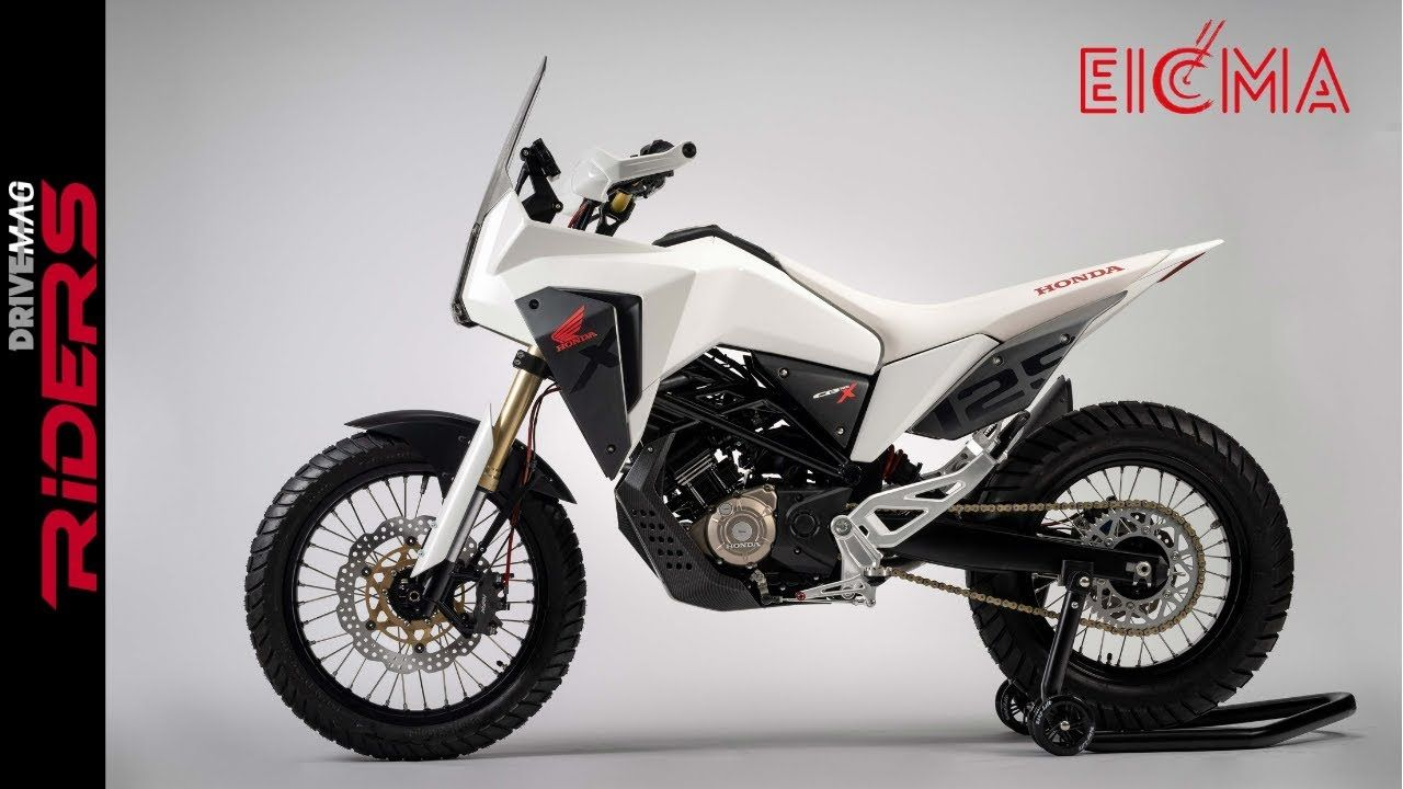 Honda Cb125x Cb125m Stunning Concepts Walkaraound And Preview Motos 125 Motos Parabrisas