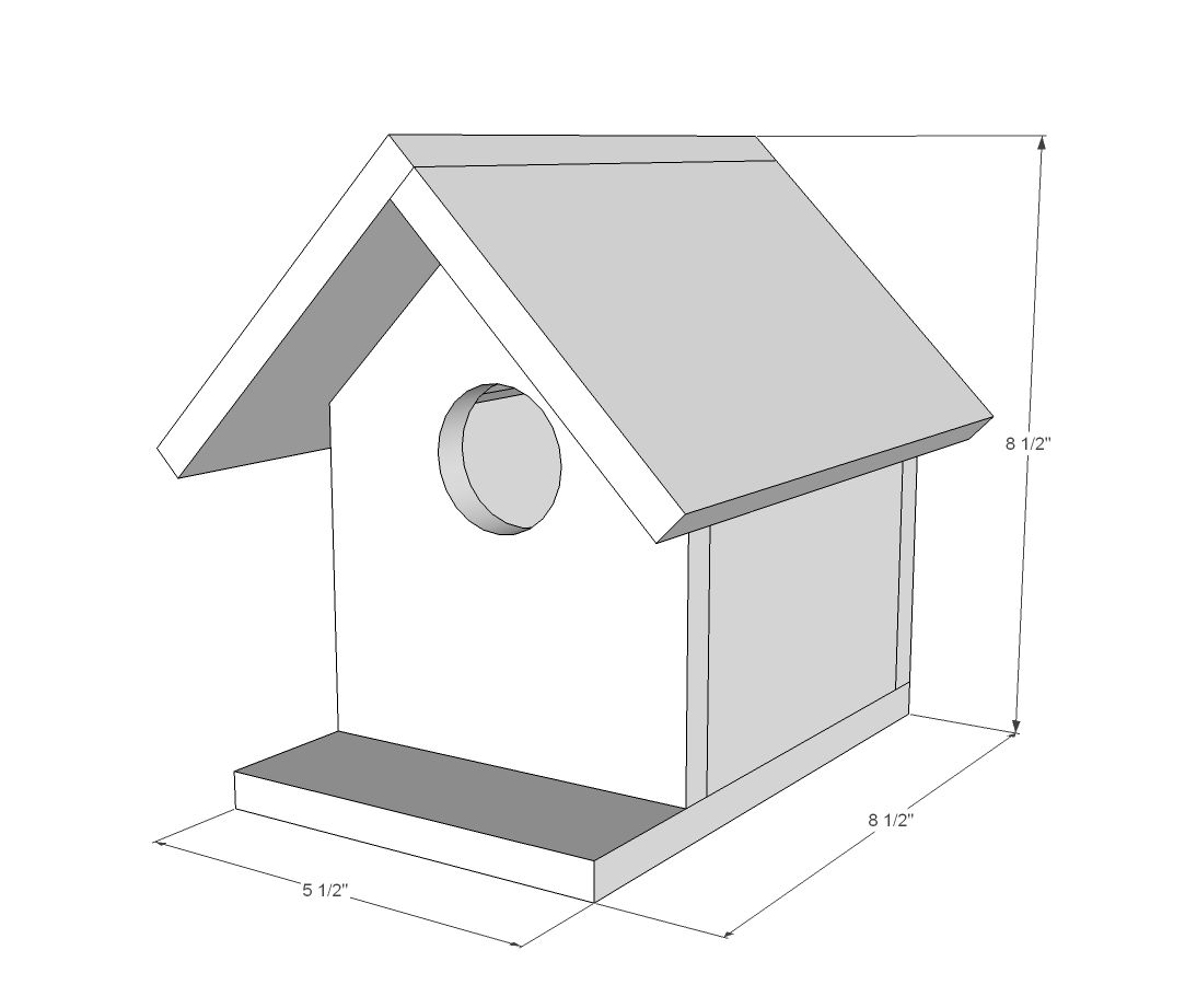 Birdhouse constructed of wood bird house design free standing bird - Bird House Plans For Kids Kids Crafts You Ll Understand The Attraction Of Building Birdhouses For Them Perches Two More To Go For