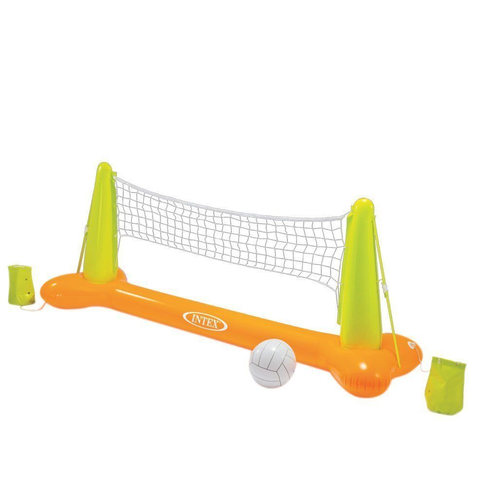 Pool Water Volleyball Water Polo Summertime Play Set Wham O Lake Water Fun Water Volleyball Volleyball Set Pool Volleyball Net