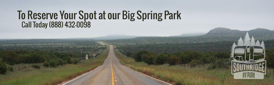 Southridge RV Parks | Ozona RV Park | Big Spring RV Park ...