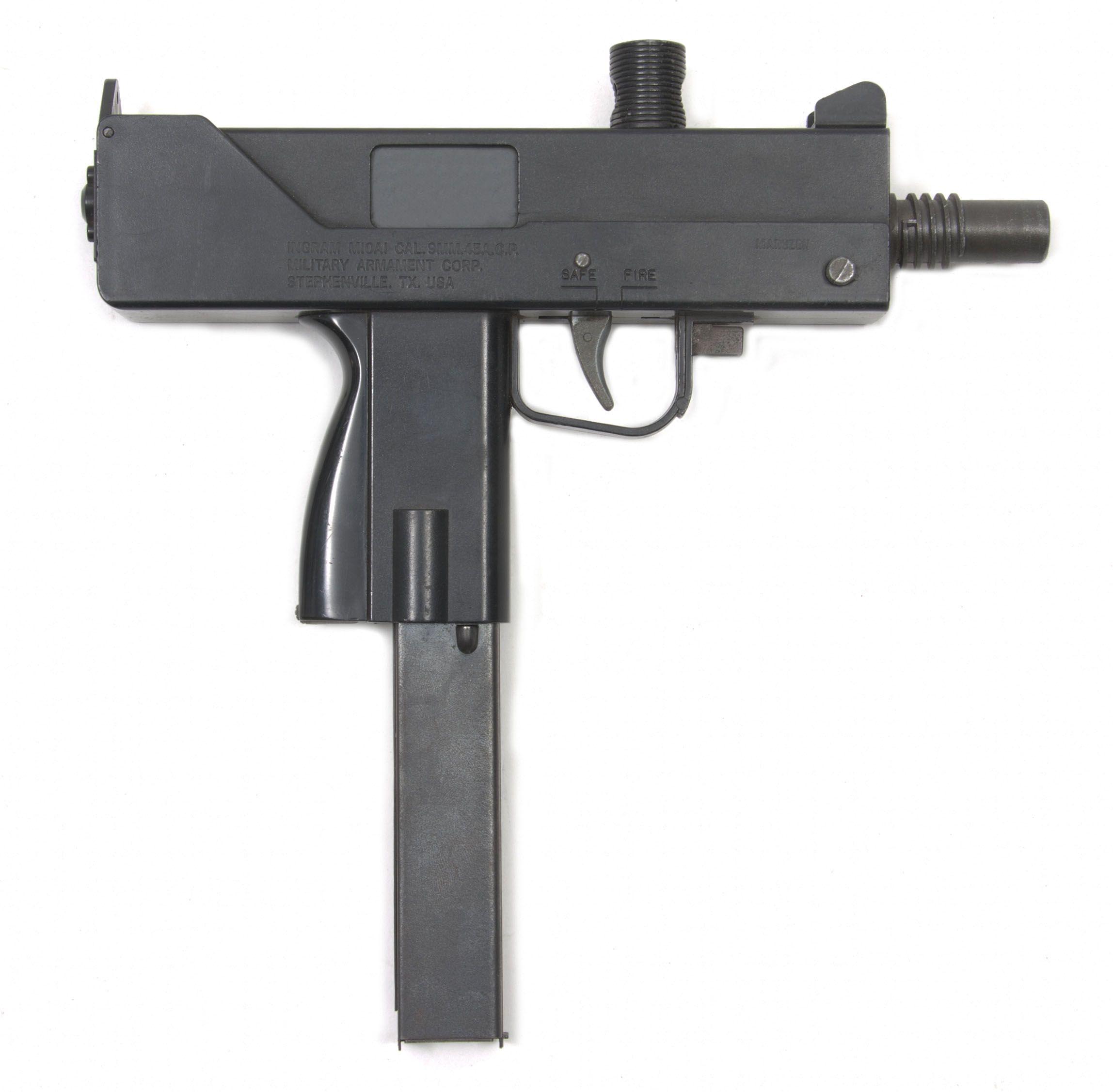MAC-10 in .45 ACP, Powder Springs/RPB double stamp gun - A MAC 10 ...