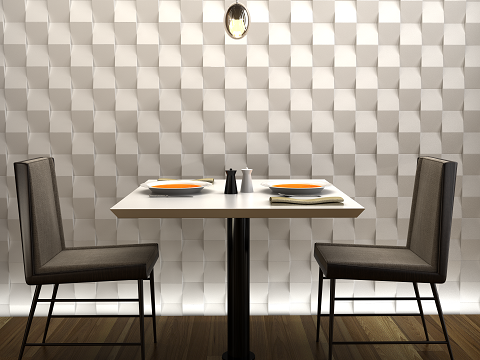 White ceramic 3D tiles Available to order from TileStyle: http ...