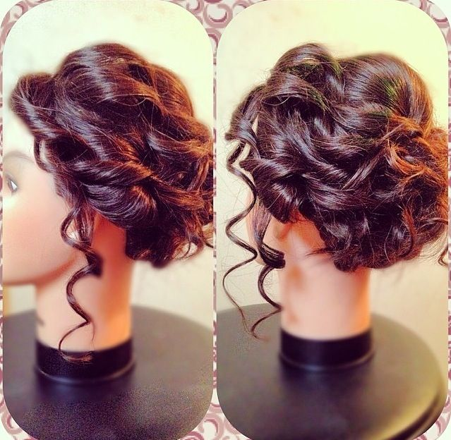 Soft Romantic Prom Updo J Pinterest Prom Updo Updo And Prom