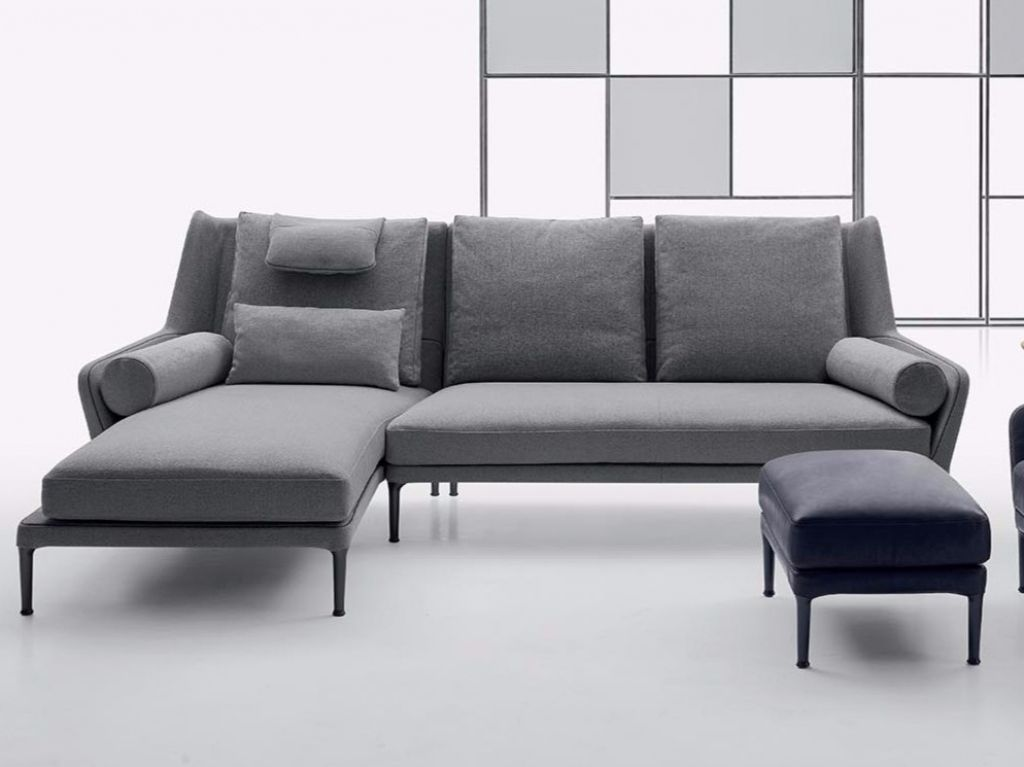 Hoekbank Chaise Lounge.Atlas Sofa With Chaise Longue Arketipo Design Mauro Lipparini
