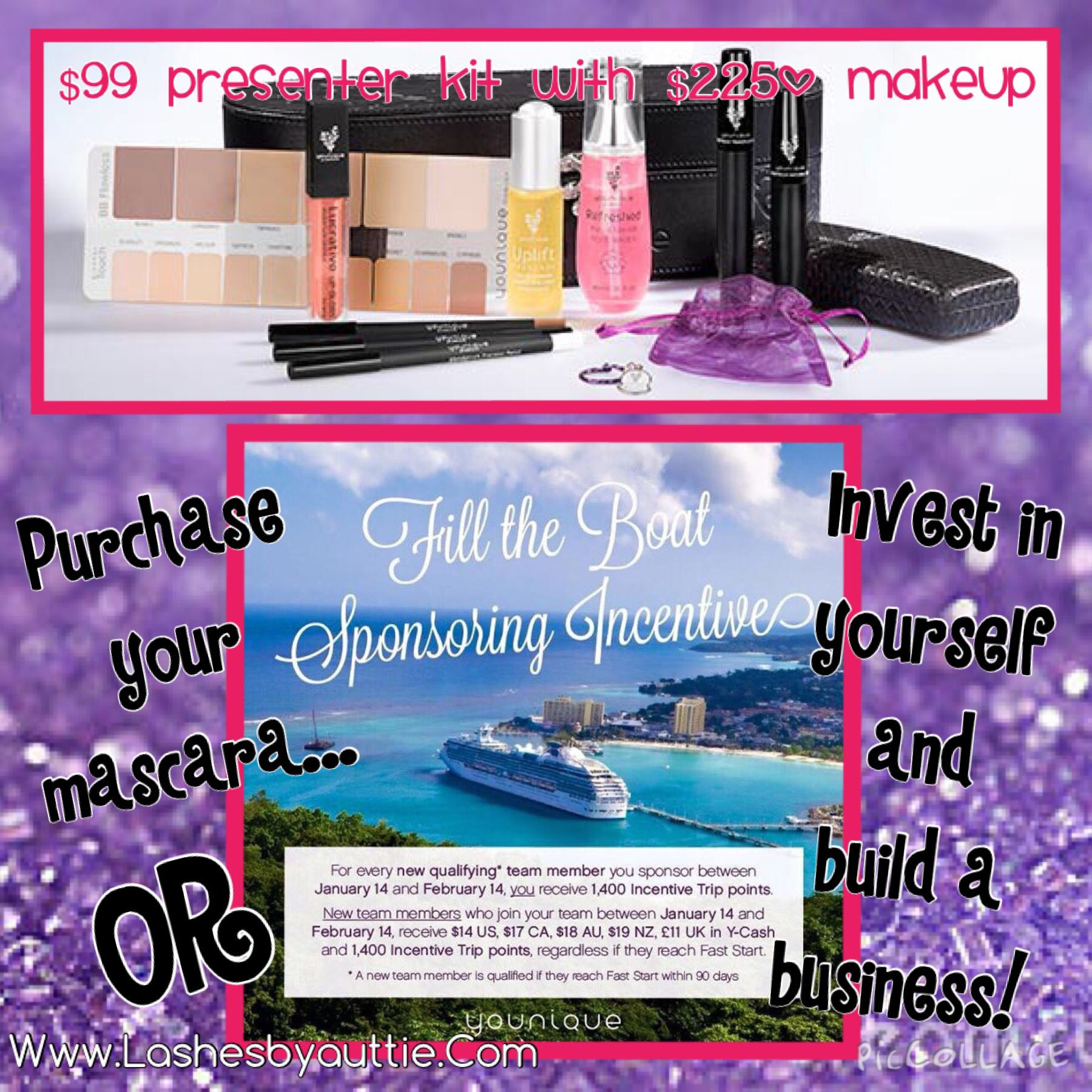 Buy your mascara... Or invest in yourself for your business! The choice is yours... Www.Lashesbyauttie.Com