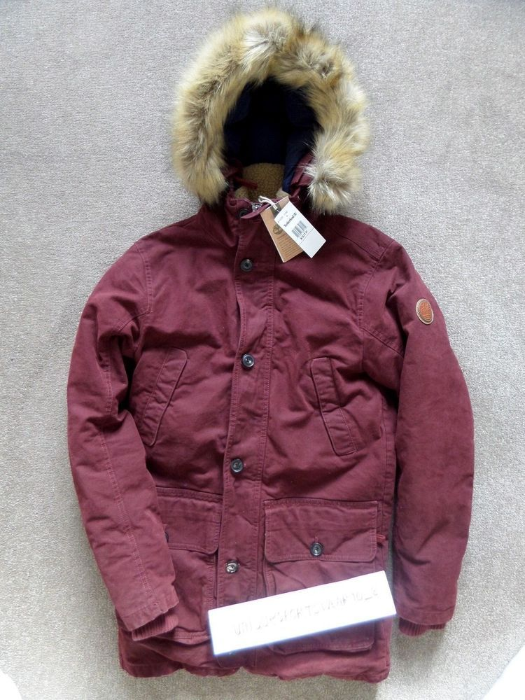 8ef1543dff7 Timberland men's scar ridge waxed parka jacket coat a1cdi duck down ...