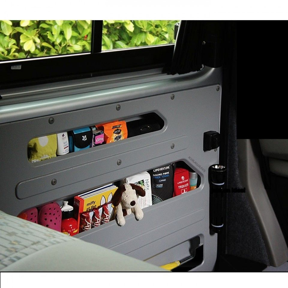 Kiravans T5 Door Store Left Sliding Door Interior Accessories Accessories Vans