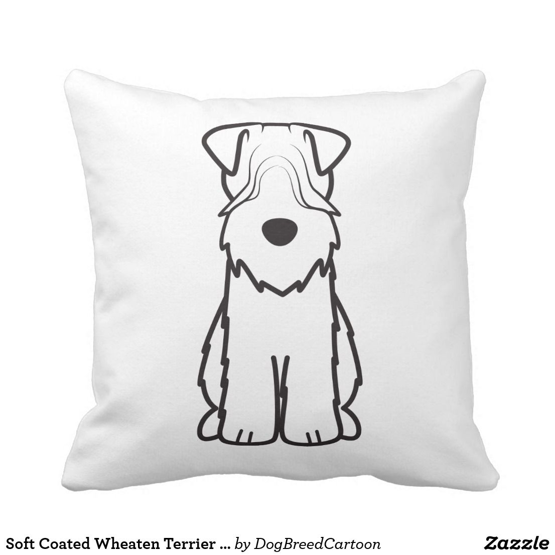 Soft Coated Wheaten Terrier Dog Cartoon Follow the link to see this ...