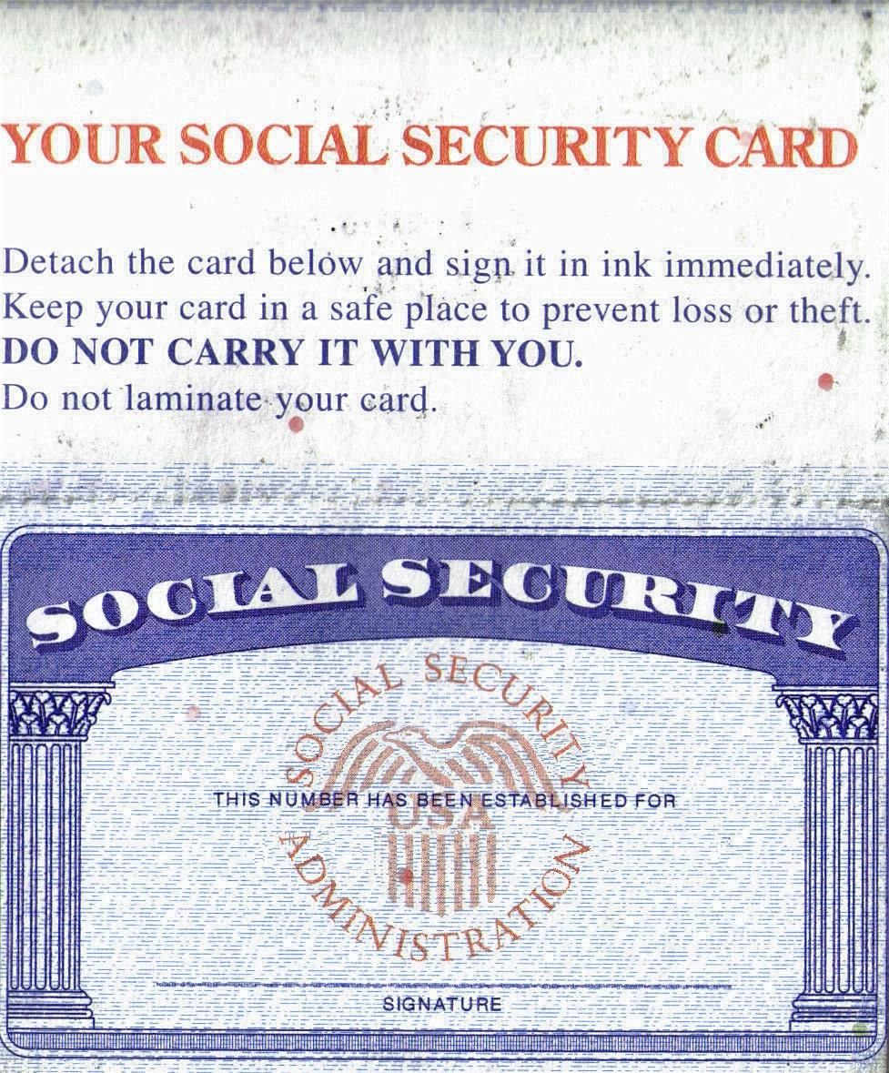 Social Security Card Template - Leaks - Nulled throughout ...