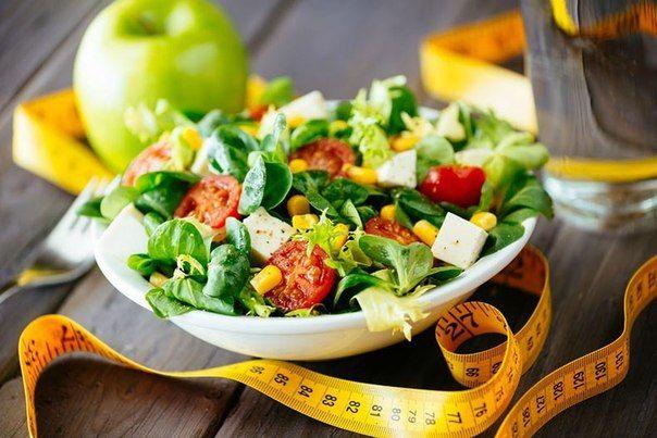 Салаты для похудения лучшие рецепты и полезные советы с фото