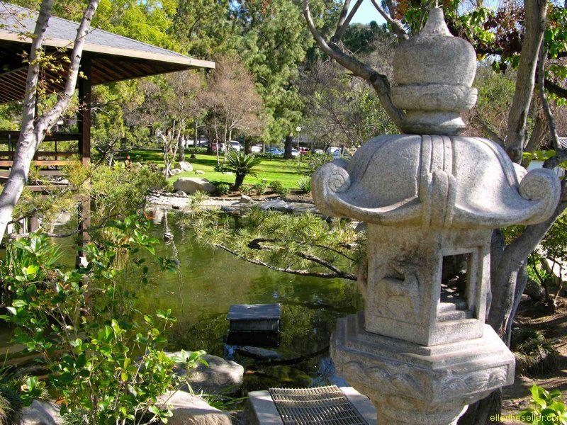 Friendship Garden and Tea House in Brand Park in Northwest Glendale ...