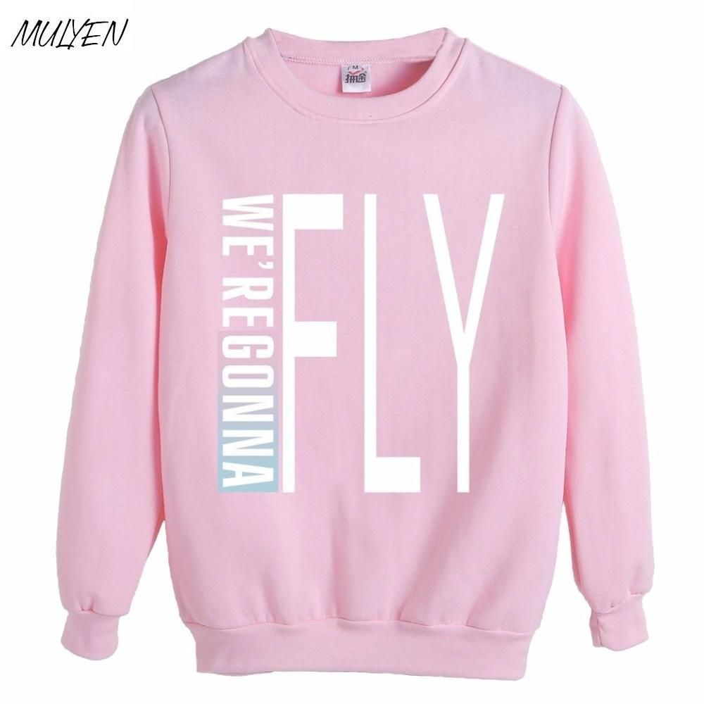 MULYEN Kpop Got7 Hoodies Women Member Name Printed GOT7 FLY IN SEOUL  Harajuku Sweatshirt Pullover Hoodies Sudaderas Mujer  love  swag  shopping  ... 5bd185e64de