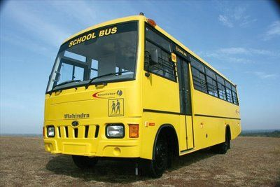 School Bus In India With Images School Bus Bus How To Start