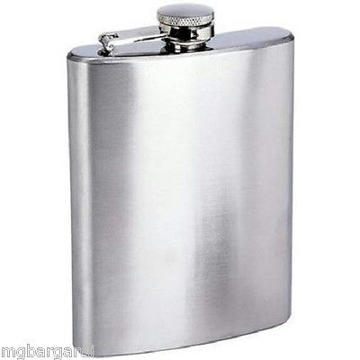 Flasks 63505: New 8 Oz Stainless Steel Liquor Hip Flask Lot Of 10 -> BUY IT NOW ONLY: $54.99 on eBay!