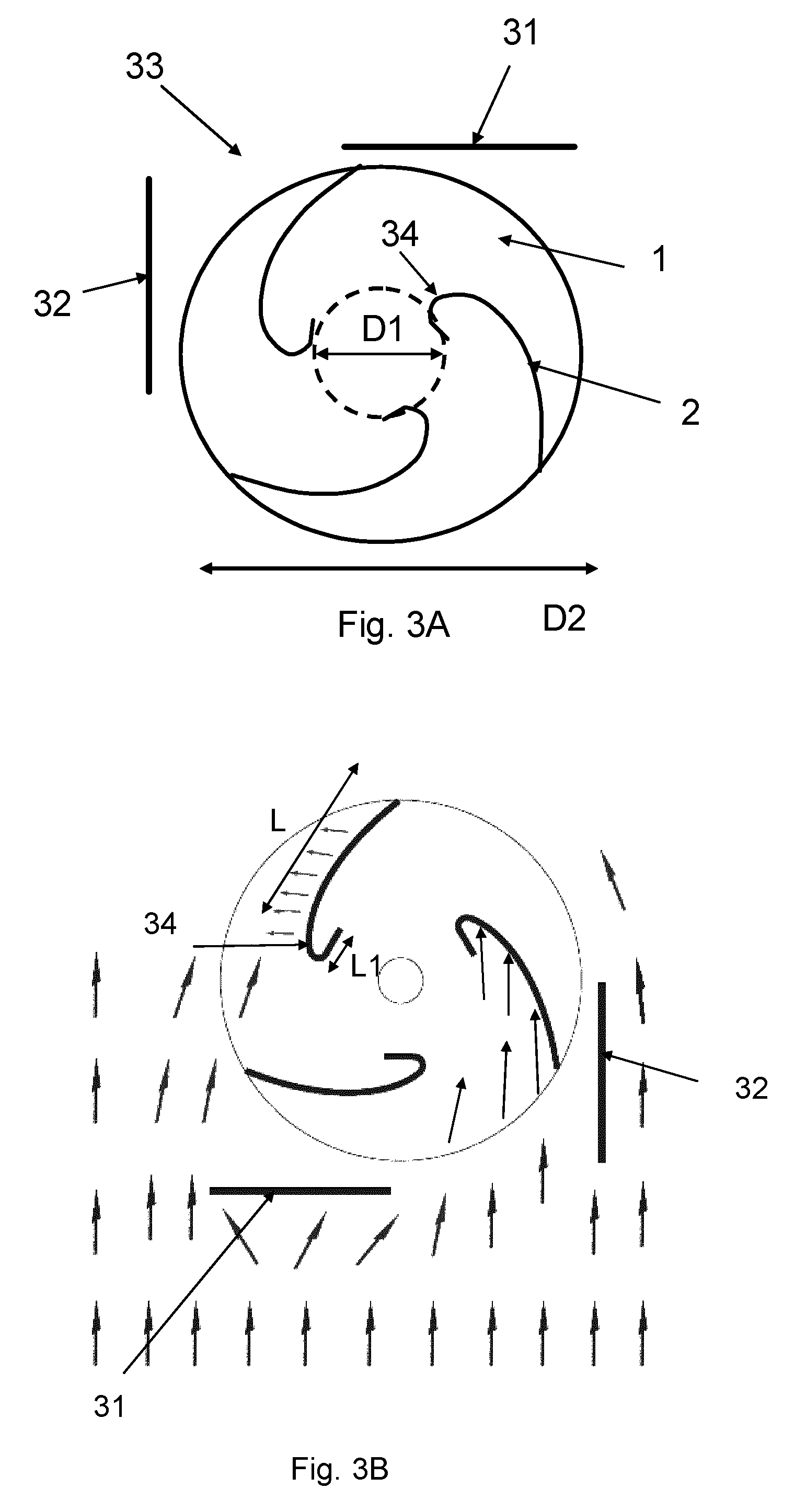 wo2012089806a1 wind turbine with vertical axis [ 1521 x 2894 Pixel ]