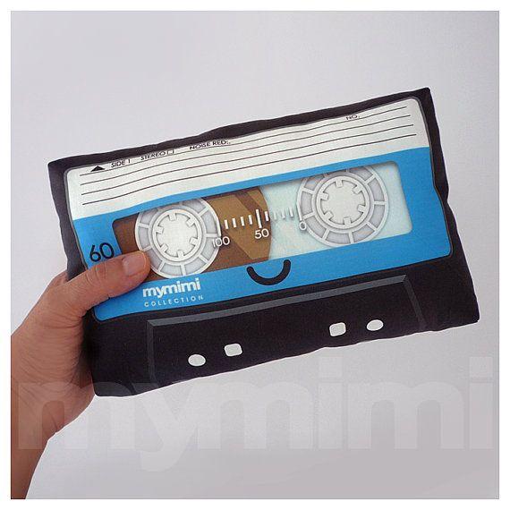 almohada de cinta de Cassette