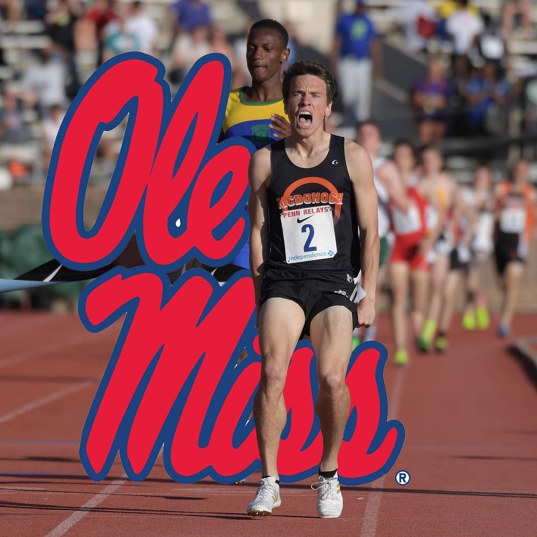 Dalton Hengst Committed To Olemisstrack Live On Instagram After Winning His League Championship Hengst Owns A 4 08 1600m Pb Track And Field Ole Miss League