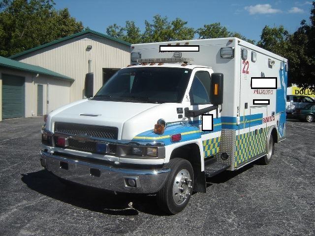 Used Ambulances For Sale Used Ambulance Medium Duty C 4500 2007