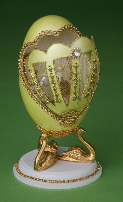 Unfolding Sensations--goose egg. Be sure to see the rest of the artist's amazing work!