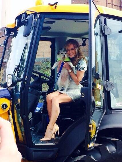 Amanda Holden Amazing | Forklift Cat | Amanda holden, Amanda
