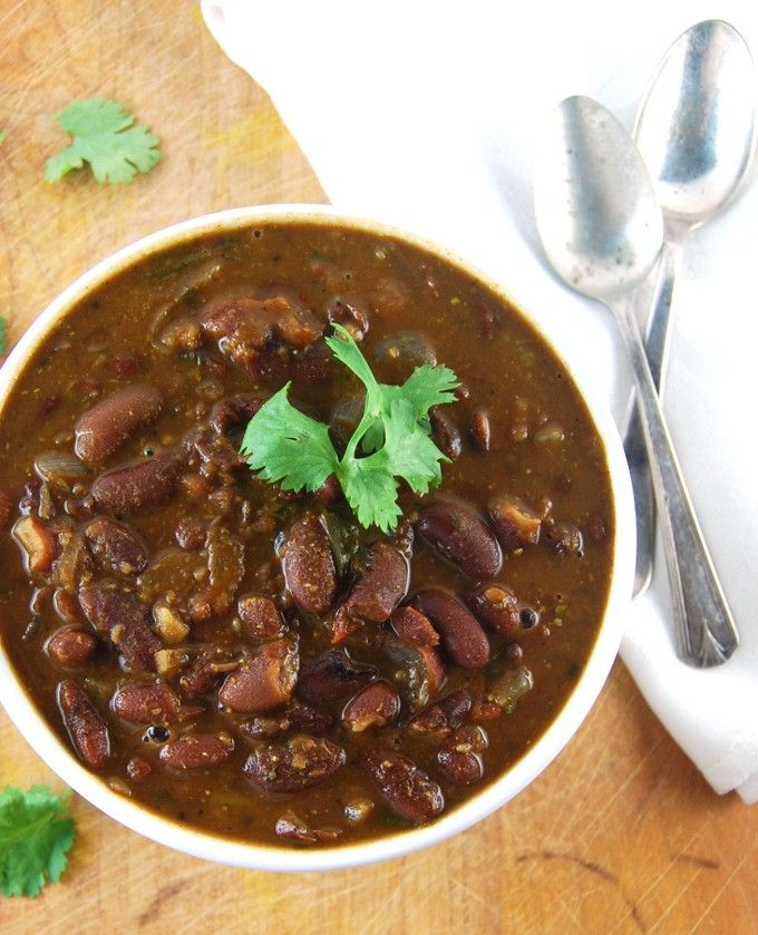 Rajma Kidney Beans In A Curry Sauce