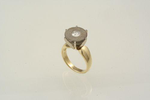 Jim Cotter Alternative Rings:  concrete, diamond, gold