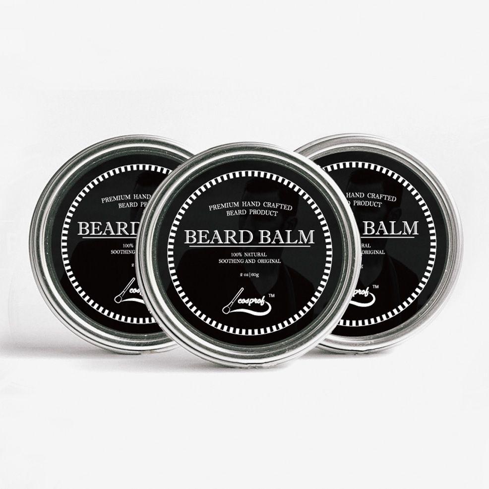 COSPROF Beard Care Natural Cream Beard Balm Moustache Wax Hair Care