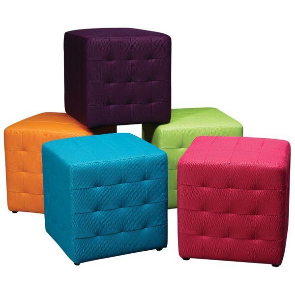 Playroom cube seats
