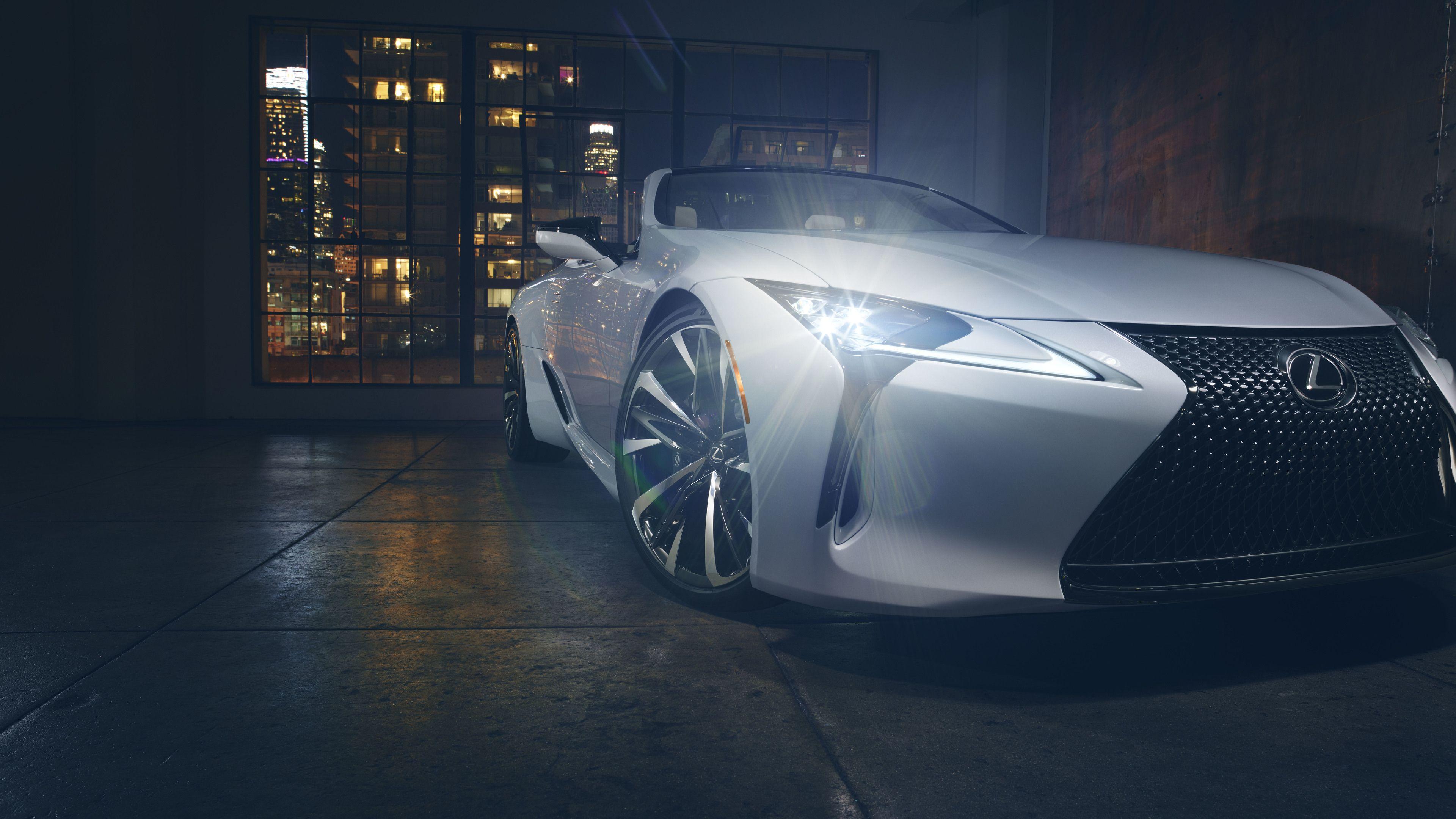 Wallpaper 4k Lexus Lc Convertible Concept 2019 4k 10k Wallpapers