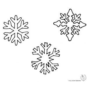 Disegno Di Fiocchi Di Neve Da Colorare Fiocchi Di Neve Disegno