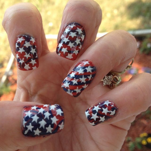 fourth of july nail designs | July 4th Nail Designs | My Style ...