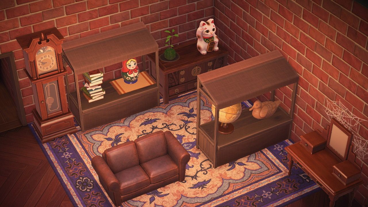 Bailee On Twitter Red Furniture Antique Shops Animal Crossing Acnh antique bedroom ideas