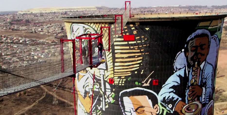 In Episode 3 of #ManCaveSA our presenters got to confront their fear of heights with a jump off the Orlando Towers.