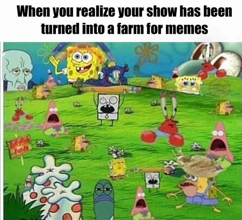 Koleksi 71 spongebob meme farm terkeren