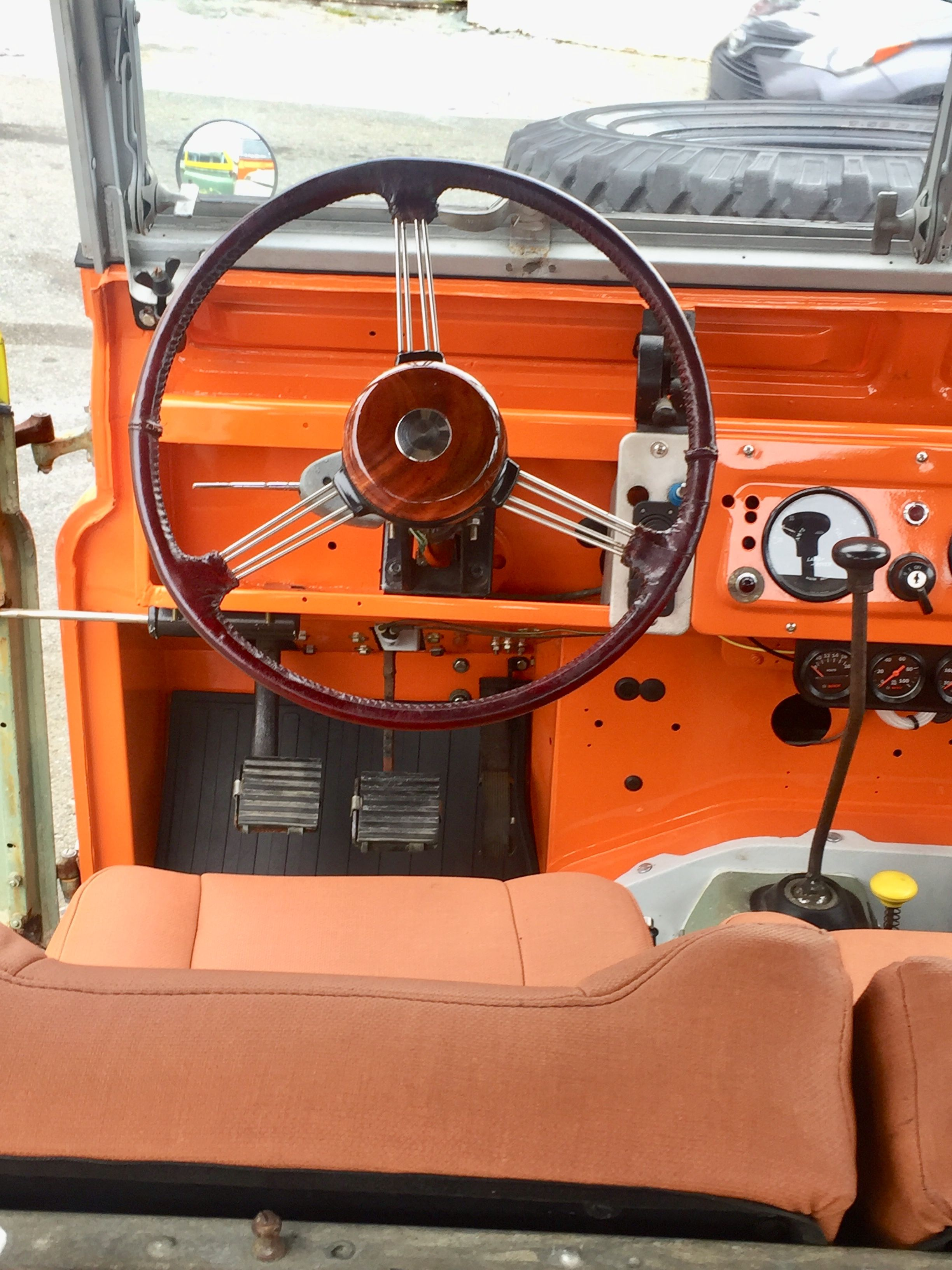 Land Rover Series 2 Steering Wheel Land Rover Series Land Rover Land Rover Defender