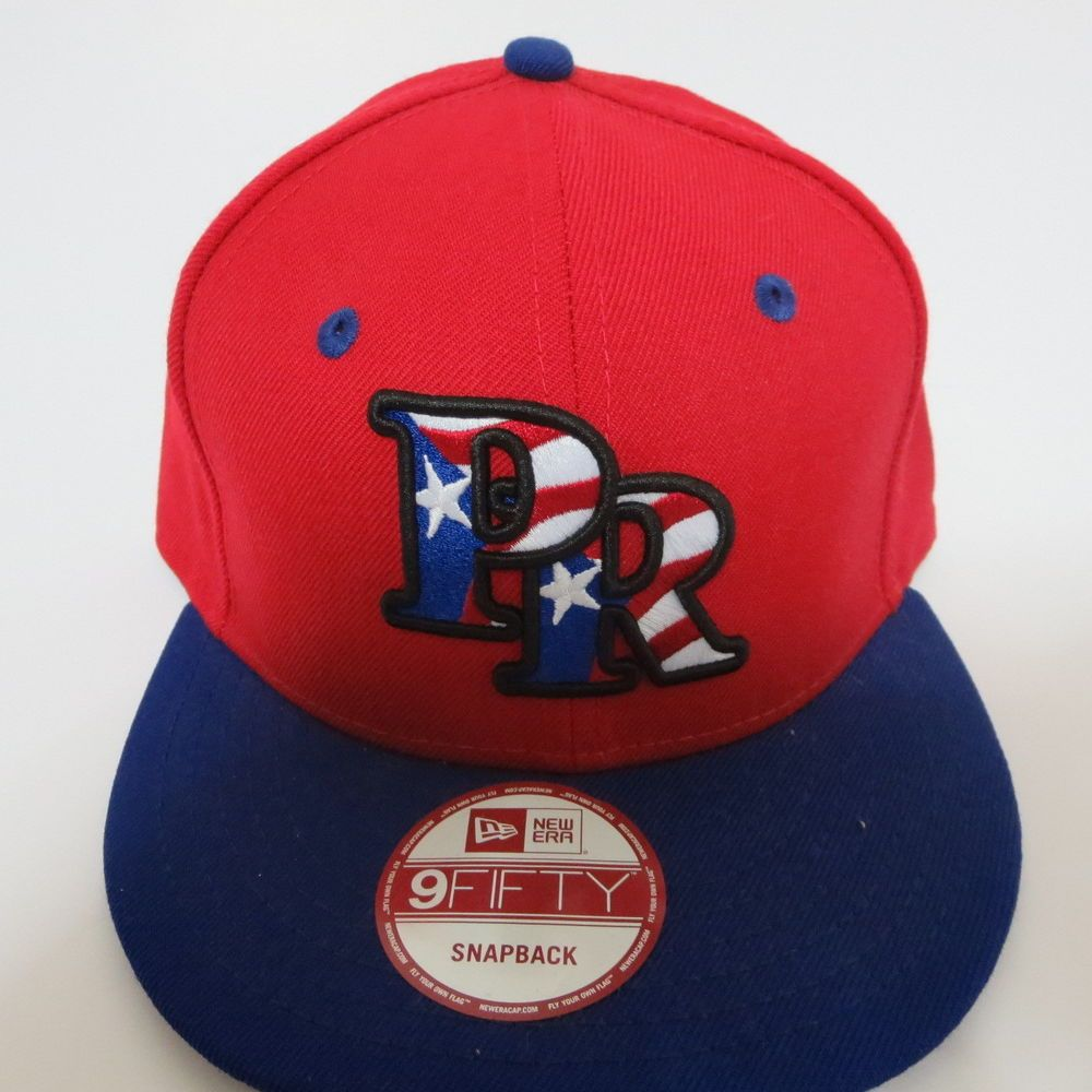 free shipping 5cd78 111d4 New Era 9fifty Puerto Rico Flag MLB Baseball Team 950 Hat Cap Red Snapback  New  NewEra  BaseballCap