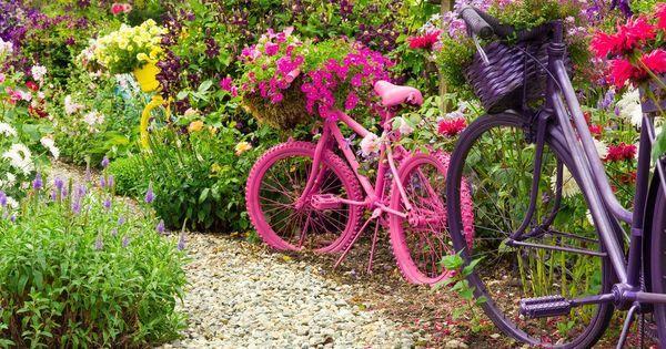 Resultado de imagem para decorar jardines con poco dinero Flores e