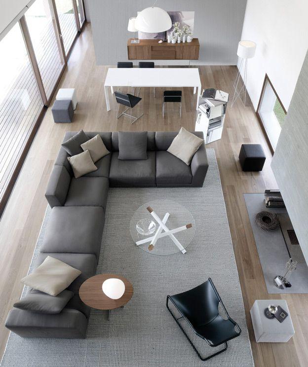 Contemporary Italian Sofas by Jesse  아파트 디자인, 소파 및 인테리어 ...