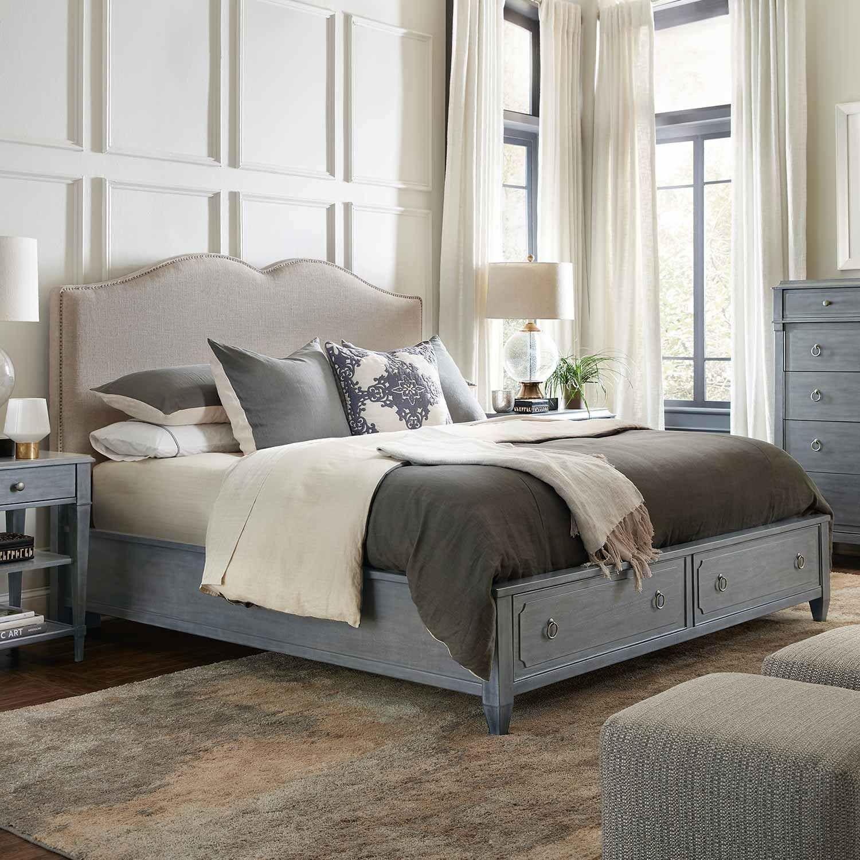 Gray Wood Bedroom Furniture Di 2020 Desain Tempat Tidur Kayu Jati
