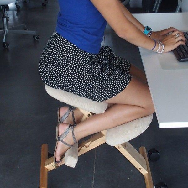 Ergochair Posture Prendre Soin De Soi Travailleuse