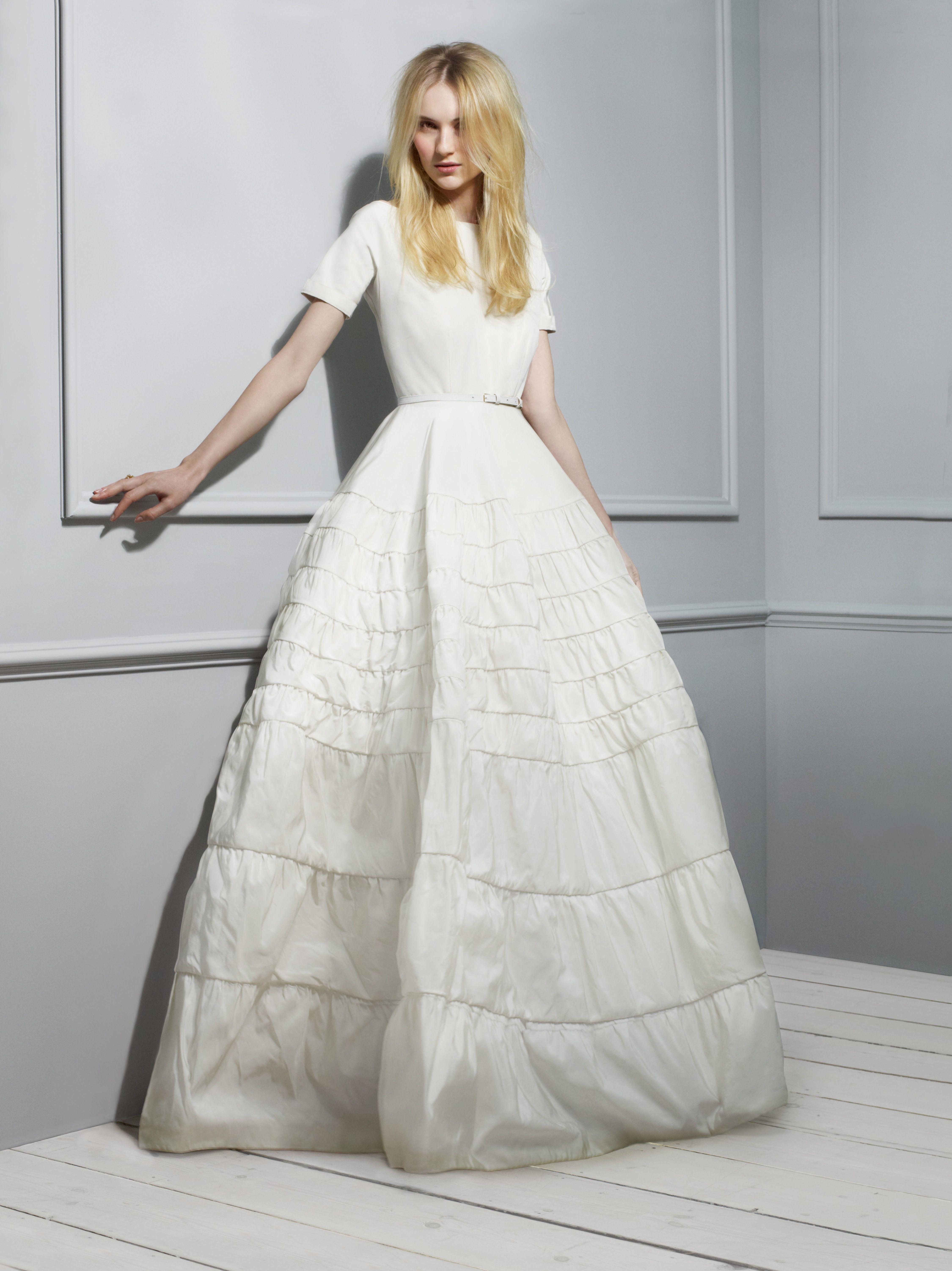 designer wedding gown collections   rochas-taffeta-wedding-dress ...
