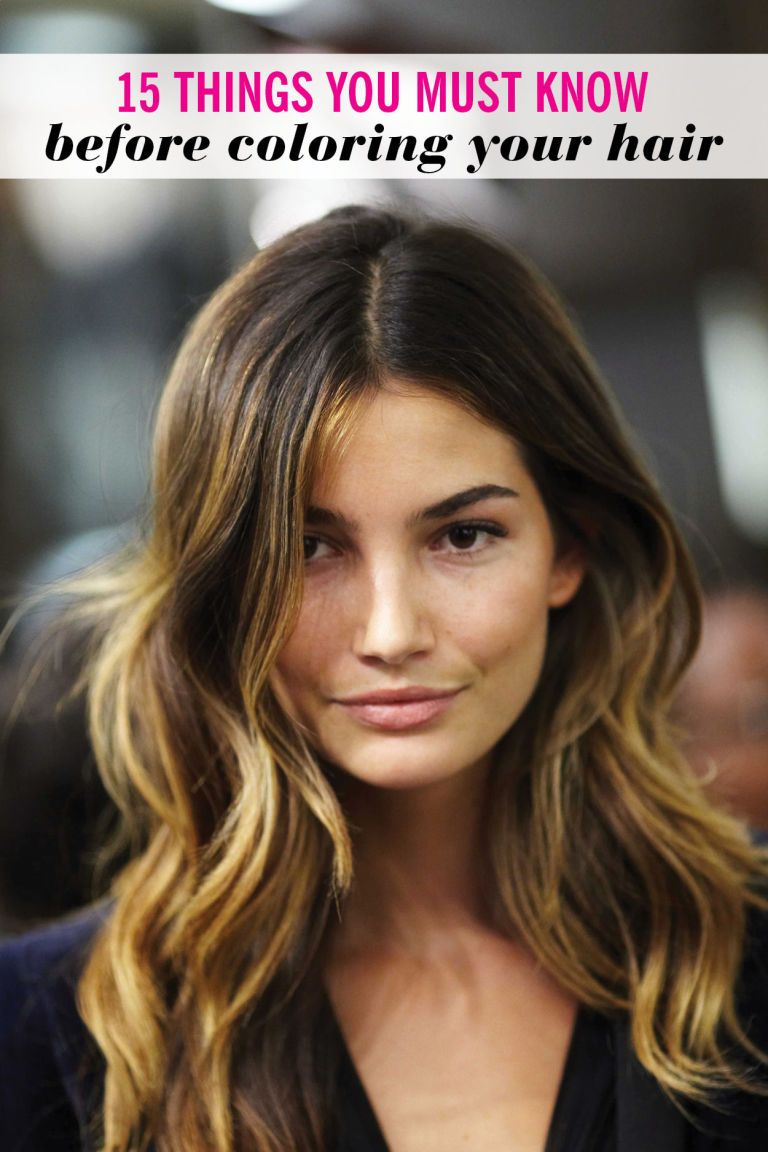 15 Things You Must Know Before Coloring Your Hair Cosmo Hair