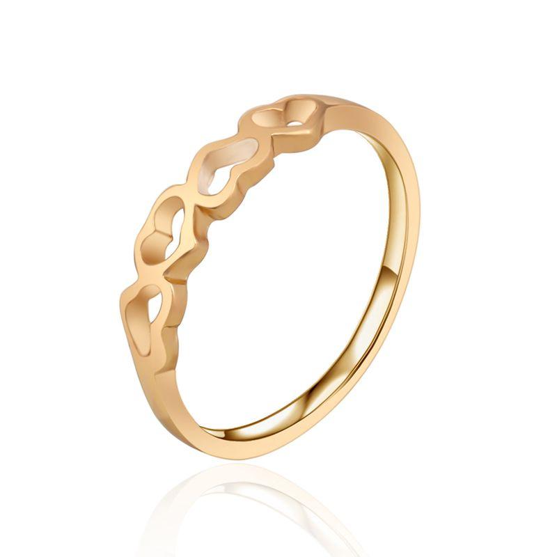 Diamantring herz gold  G37 Herz Trauringe für Frauen gold schmuck Qualität Simuliert ...